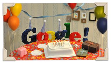 Google 13岁生日纪念