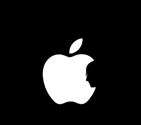 纪念乔布斯去世logo