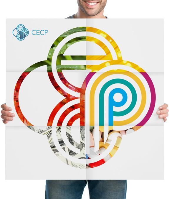 CECP慈善企业推动会海报设计