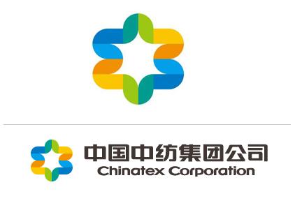 中纺集团logo