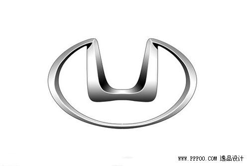 官方解释:海马汽车的标志是象征太阳的圆上嵌一个