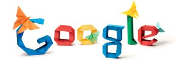 Google折纸logo